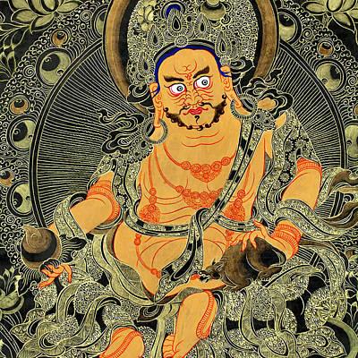 Yellow Jambhala 30 Poster by Lanjee Chee
