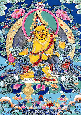 Yellow Jambhala 31 Poster by Lanjee Chee
