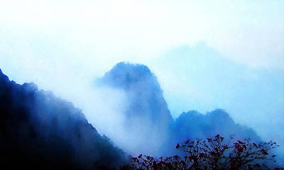 Huangshan Mountain - China, Zen Poster by Stacey Chiew