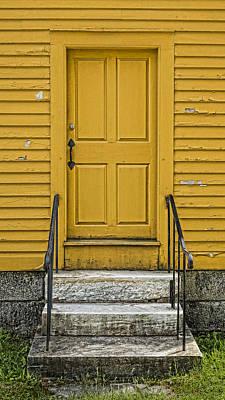 Yellow Shaker Door Poster