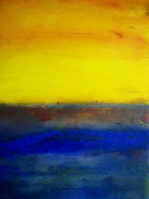 Yellow Sky 1 Poster