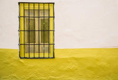 Yellowed Wall Poster