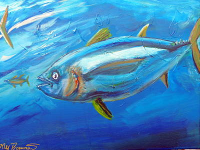Yellowfin Muscle Poster