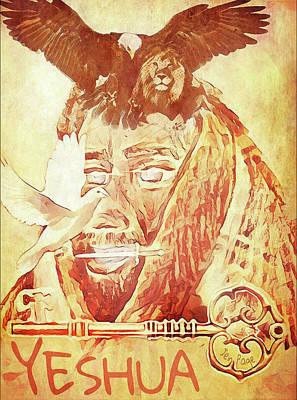 Yeshua The Key Poster by Jennifer Page