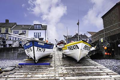 Yh Boats. Poster by Bill Allsopp