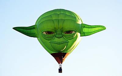 Poster featuring the photograph Yoda  by AJ Schibig