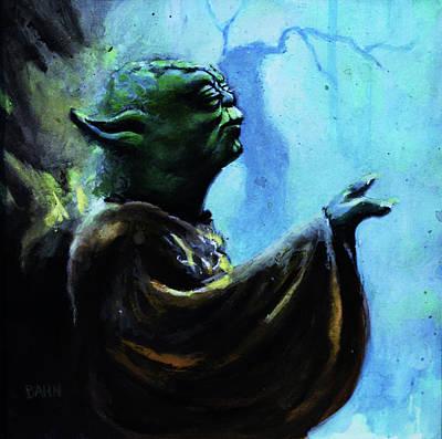 Yoda Poster by Chris Bahn