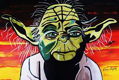 Yoda  Come Home Poster