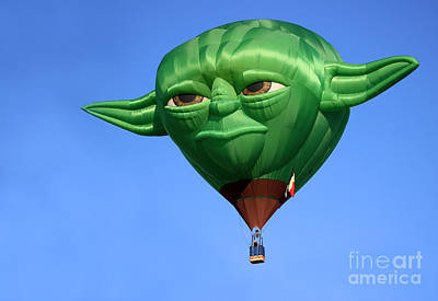 Yoda In The Sky Poster