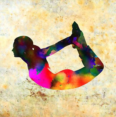 Yoga - Bow Pose Poster