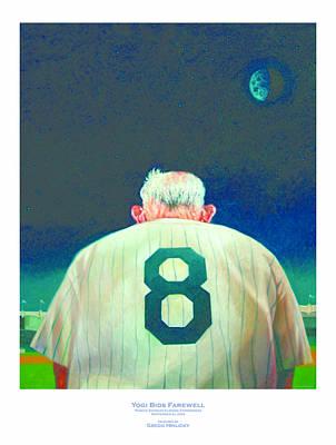 Yogi Bids Farewell Poster by Gregg Hinlicky