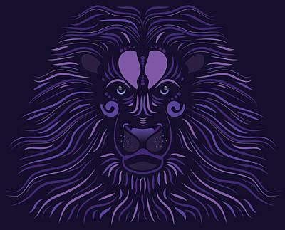Yoni The Lion - Dark Poster