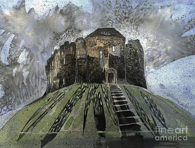 York Castle Poster by Elizabetha Fox