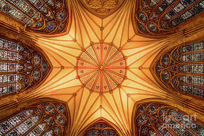 York Minster - Chapter House Poster by Martin Williams
