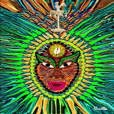 Yoruba Collection  Orula Poster