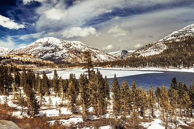 Yosemite Melts Into Spring Poster