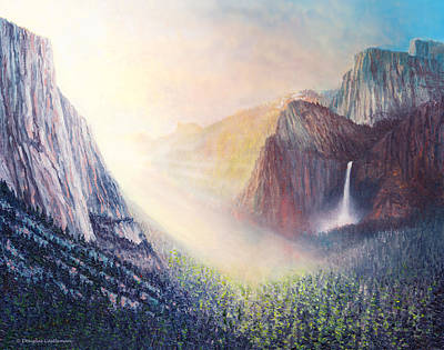 Yosemite Morning Poster