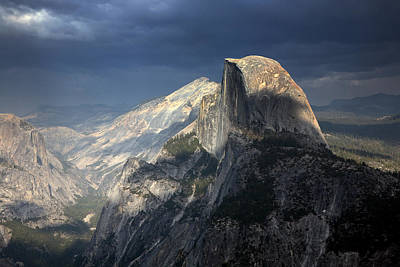 Yosemite National Park Poster by Chuck Kuhn