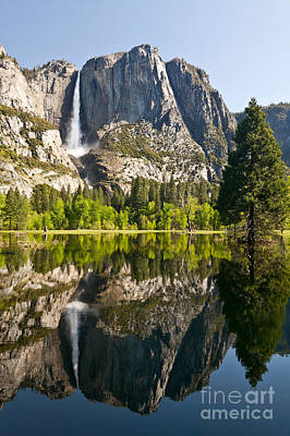 Yosemite National Park, Springtime Poster by Inga Spence