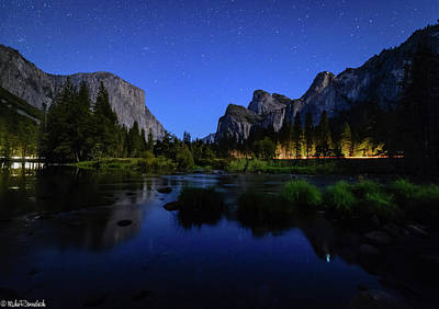 Yosemite Nights Poster