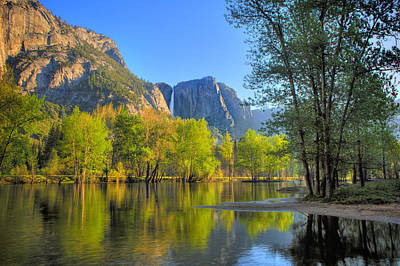 Poster featuring the photograph Yosemite Reflections by Kim Wilson