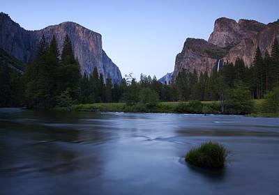 Yosemite Twilight Poster