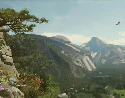 Yosemite Valley Poster by Brad Burns