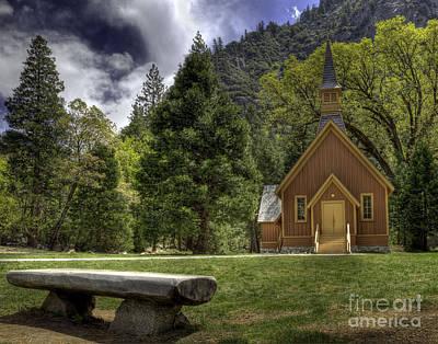 Yosemite Valley Chapel Poster