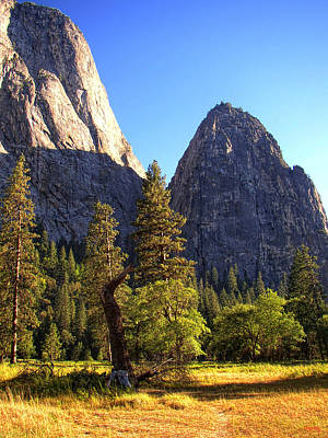 Yosemite Valley Pinnacle - California Poster by Glenn McCarthy Art and Photography