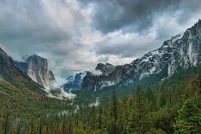 Yosemite Valley Storm Poster