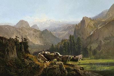 Yosemite Zaku Poster by Andrea Gatti