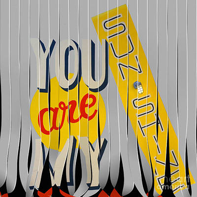 You Are My Sunshine Poster by Liane Wright