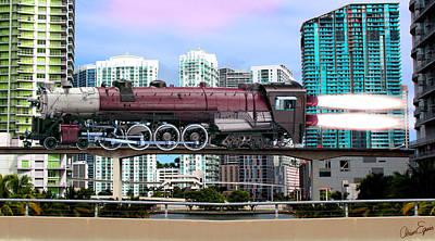 You Know I'm Locomotive Poster