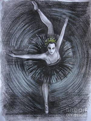 Poster featuring the drawing You Think You Can Dance by Anna  Duyunova
