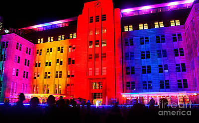 You Want Color - Vivid Sydney By Kaye Menner Poster