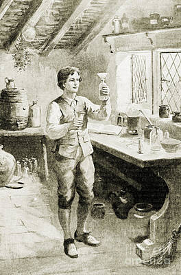 Young Humphry Davy Poster