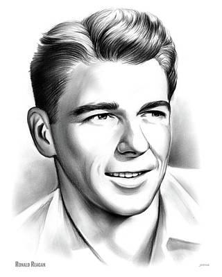 Young Reagan Poster