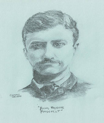 Young Theodore Roosevelt Poster