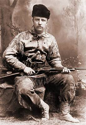 Young Theodore Roosevelt Dressed Poster