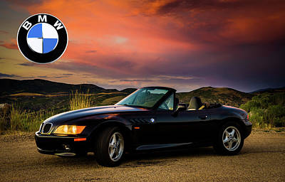 Z3 Sunset - Roundel Poster by TL Mair