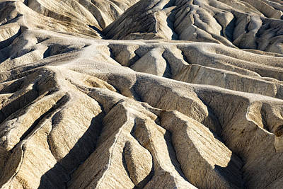 Zabriskie Point Badlands Poster