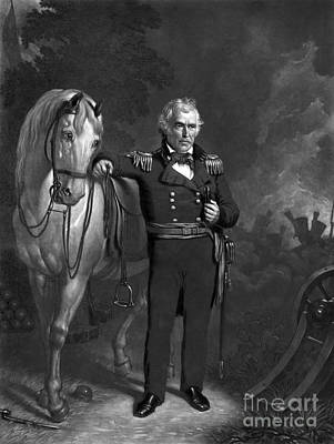 Zachary Taylor, 12th U.s. President Poster by Science Source