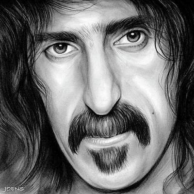 Zappa Poster by Greg Joens