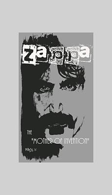 Zappa Poster by William Walts