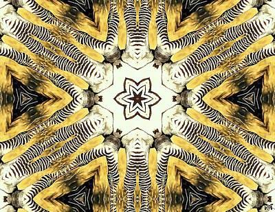 Zebra I Poster by Maria Watt