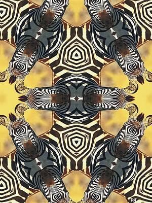 Zebra II Poster by Maria Watt