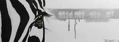 Zebra Tears Poster