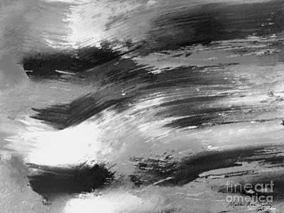 Zen Abstract A715d Poster