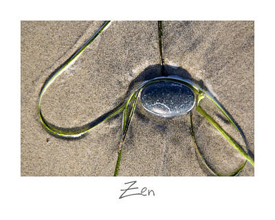 Zen Poster by Peter Tellone