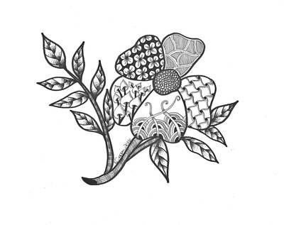 Zen Sitka Rose Poster